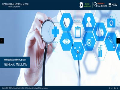 Hospital website development in mumbai