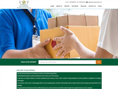 courier and cargo website and software development company
